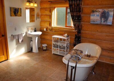Bear Room Bathroom