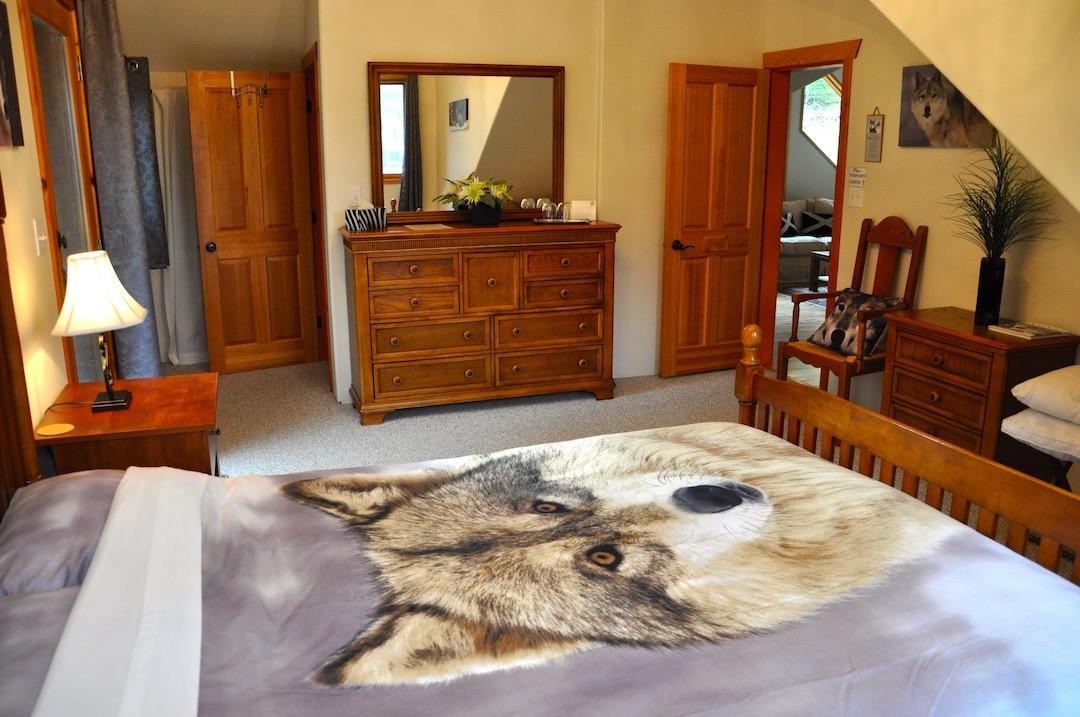 Wolf Room Facing the door