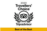 Trip Advisor's Travellers' Choice Best of the Best Award